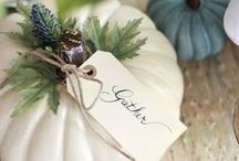 ENTERTAINING Fall / Inspiring ideas and recipes for all of your autumn entertaining.