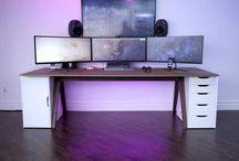Desktop setups / Desktops, keyboards, mouses