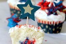 HOLIDAY Patriotic Recipes & Party / Celebrating the red, white, and blue with summer patriotic and 4th of July recipes and ideas.