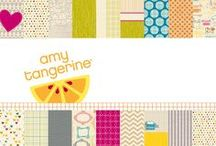Amy Tangerine Collection / Projects and ideas created using some our favorite products from Amy Tangerine! #amytangerine #papercrafts #cardmaking #scrapbooking