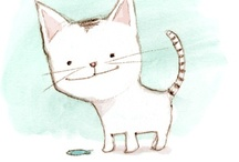 ♥Illustrations♥Cats♥