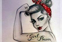 I N S P I R A T I O N | GIRL POWER