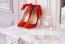 Red High Heels / Red Heels are bold and add a great pop of color to your outfit!