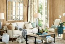 Spaces for Living / Living Rooms and Great Rooms
