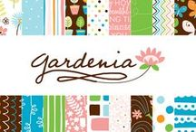 Gardenia Collection / Gardenia Collection, released Winter 2012 by American Crafts, Inc. #garden #flowers #scrapbooking #papercraft #paper