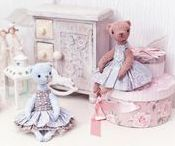 ♥ My TeddyBears & friends ♥ / My OOAK doll shop: www.etsy.com/shop/Oksa  Buy print with photo of artistic toy: https://oksana-ariskina.pixels.com/collections/teddy+bears #TeddyBears #OOAK #FineArtPrint