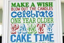 Celebrating Birthdays! / Birthday Ideas