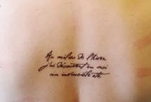 Tatts <3 / by Zoe Pytlinski