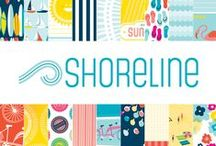 Shoreline Collection / Shoreline Collection, released Summer 2012 by American Crafts, Inc. #scrapbooking #paper #cards #crafts #beach #summer #shore