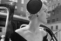 Vintage Fashion / Vintage hair, makeup and fashion