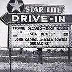 Starlite Drive-In / Double Feature Night at the Drive-In Movies