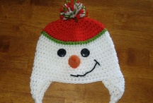 Holiday Crochet Hats / by Hope Lozzio