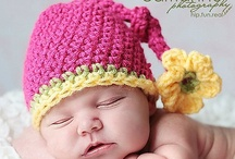 Baby Crochet Hats / by Hope Lozzio