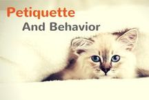 Petiquette / We always want our pets to be good little boys and girls, but sometimes that doesn't happen! That's why we want to share all of our behavior and training tips with you!  / by Pet360.com