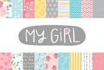 My Girl Collection / My Girl Collection, released Summer 2013 by American Crafts , Inc. #scrapbooking #crafts #paper #cards #girl #sugarandspice