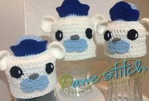 Octonauts Inspired Crochet Hats / by Hope Lozzio