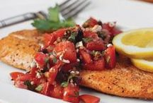 Fish Recipes / Of course we love to cook fish! Here are some great recipes