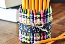 Back-to-School Inspiration / Back-to-school #craft, #DIY and #scrapbooking ideas