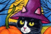 HALLOWEEN CATS/BOARD 3 / by Yvonne Naudack