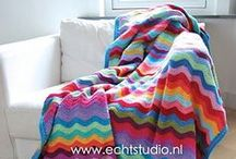 Crochet: Blankets & Afghans / Pattern and picture ideas for various crocheted blankets and afghans. Both adult and baby blankets / by Jeanna Colette
