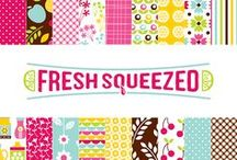 Fresh Squeezed Collection / Fresh Squeezed Collection, released Summer 2012 by American Crafts, Inc.