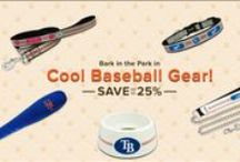 MLB Team Shop / Hit it outta the park! Save up to 25% off on cool baseball gear for your pet. / by Pet360.com