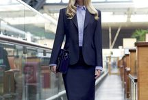 Great skirt suit outfits / A must at work, and required at more formal occasions