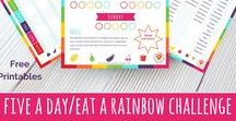 3 week five a day / eat a rainbow family challenge / A resource bank for our five a day / eat a rainbow family challenge. kicking off 8th January 2018. Join us at: https://www.organiccookeryschool.org/january-rainbow-challenge