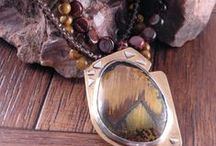Jewelry with Stones by Others / Artisan jewelry with stones