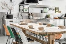 Interior / Home Aspirations // Interior Decoration // Modern Living // Modern Interior // Industrial Interior / by Philine van den Bos
