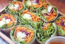 Recipes: Salads, Wraps and Healthy Shiz / by Megan Reed