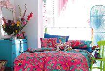 Chambre / Chambre colorées pastels