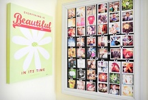 Photos on the wall / Interesting ways to display photographs