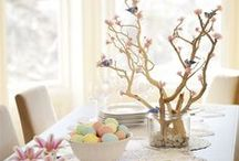 Spring Inspiration / It's all about spring! Recipes, home decor and craft ideas to celebrate spring.