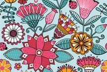 illustration and patterns / by Ana Paula Cavalcanti