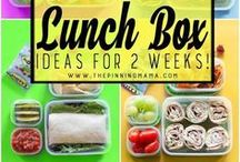 Lunches and Snacks / Ideas for lunches and snacks, portable meals, non-traditional lunches for kids and teens.