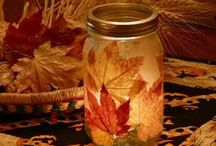 Fall Crafts / All about FALL: Halloween, Thanksgiving and Leaves.