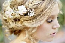 Wedding {Hairstyles} / Some hair inspiration for our brides