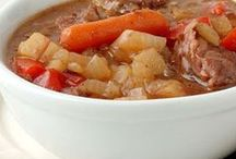 Soups and Stews / A collection of soup and stew recipes for fall and winter.