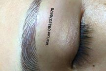Permanent makeup / Microblading permanent eyebrows permanent eyeliner