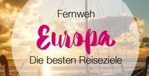 Fernweh Europa | Die besten Reiseziele / Happy Places mit Fernweh | Reiseziele in Europa mit Fernweh Garantie. Hier werden die besten Reisetipps und Sehenswürdigkeiten rund um Reisen in Europa gesammelt. ----- Du willst mit pinnen beim GRUPPEN BOARD? Like und kommentiere einfach den Cover-Pin: https://de.pinterest.com/pin/150307706295773936/ Ich lade dich dann in die Gruppe ein. Keine Reiseanbieter.