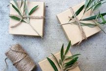 gifts + wrap / Lovely ideas for making and wrapping little happies. / by Elyse Ash