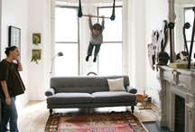 Lively Living Rooms / Living rooms worth living in! / by LuxeYard