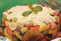 Fruit & Fruit Salads / by Sherry Hebert