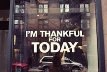 """Gratitude Board (What are you Thankful for?) / Today we are grateful for having 16,000 Facebook """"Likes"""", so today we offer 16,000 """"Thanks"""" from The LuxeYard Team!!      What are YOU Thankful for? / by LuxeYard"""