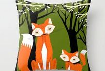 Fox / All the lovely fox things! #fox