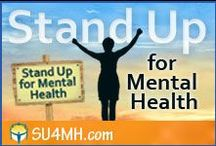 Mental Health Stigma - Stand Up for Mental Health / Mental health stigma keeps millions of people with mental health disorders, like depression, bipolar disorder, anxiety and eating disorders, in hiding. It's time to Stand Up for Mental Health. Join the campaign. www.SU4MH.com Contact: pinterest AT healthyplace.com / by HealthyPlace.com Mental Health Website