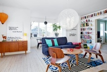 Scandinavian interiors / by Marilyn Saunders
