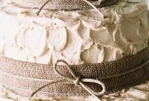 homemade wedding cake/cupcakes / by Caroline Edwards | chocolate and carrots