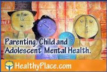 Parenting | Child and Adolescent Mental Health / Share parenting information, especially dealing with mental health of children and child psychology. Kindly post no more than 3 or 4 at one time so that we all have time to enjoy all pins, and everyone has the same opportunity. Happy pinning! Contact: pinterest AT healthyplace.com  / by HealthyPlace.com Mental Health Website